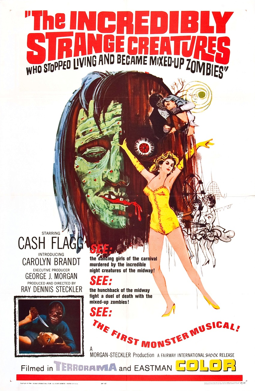 The Incredibly Strange Creatures Who Stopped Living and Became Mixed-Up Zombies (1964)