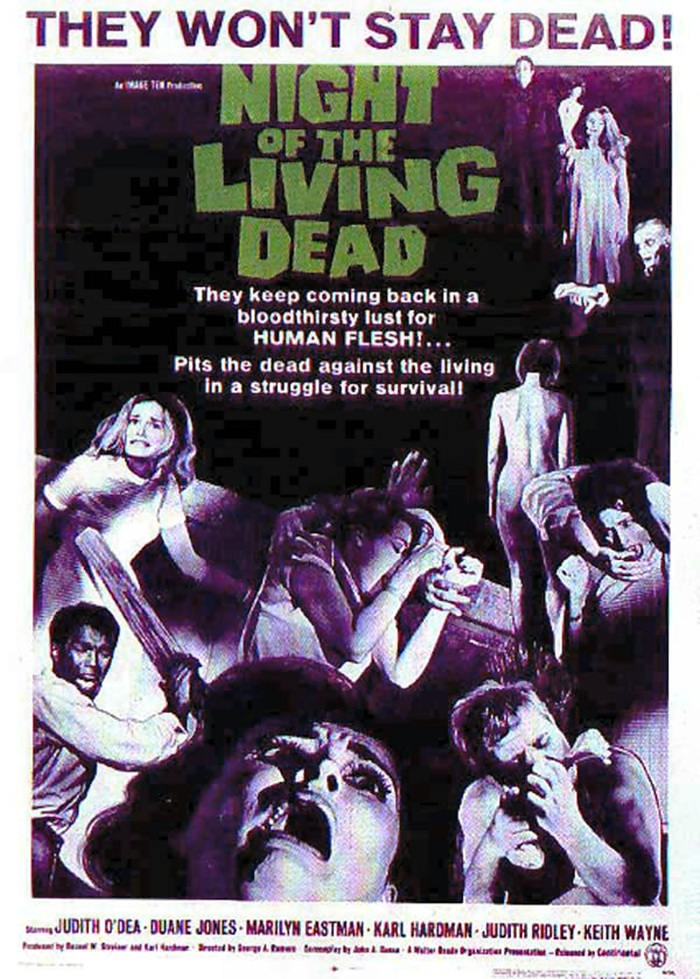 Night of the Living Dead (1968) posters