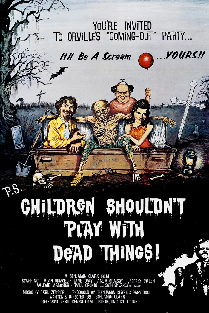 Children Shouldn't Play with Dead Things (1973)
