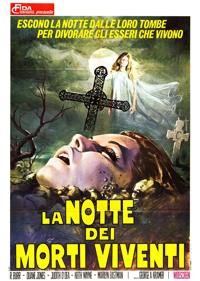 Night of the Living Dead (1968) Italian poster