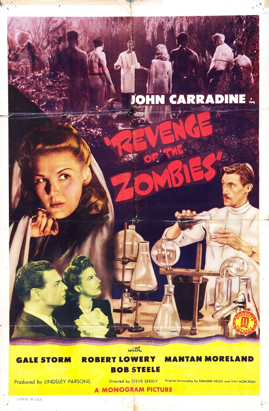 Revenge of the Zombies (1943)