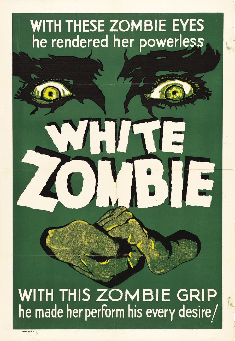 White Zombie Theatrical Poster