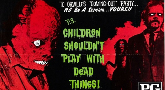 Children Shouldn't Play with Dead Things (1973): Soundtrack
