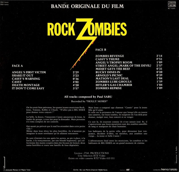 Hard Rock Zombies OST