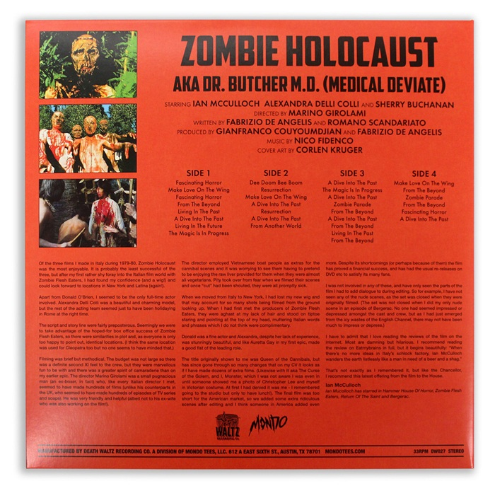 Zombie Holocaust - Deluxe Edition